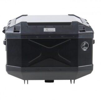 Maletero negro en aluminio para Honda alto cilindraje