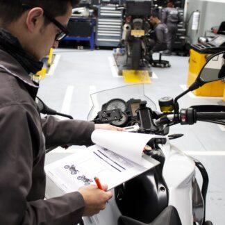 Revisión tecnicomecánica para motos de alto cilindraje