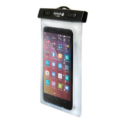 Funda transparente para guardar teléfonos celulares