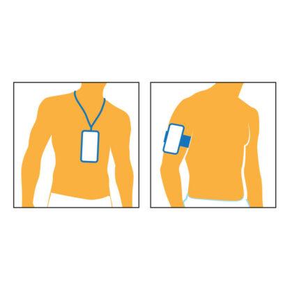 Funda porta celulares impermeable