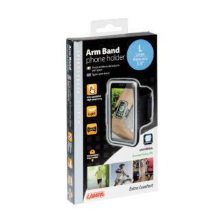 Banda porta celular impermeable para el brazo