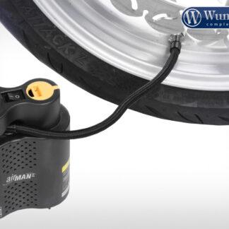 Compresor de aire para inflar llantas en motos de alto cilindraje