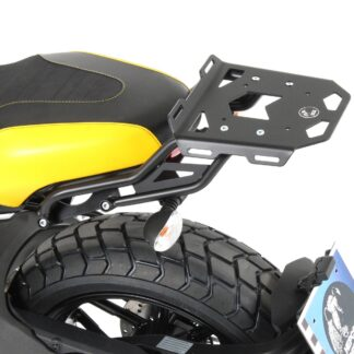 Minirack negro para maletero Hepco y Becker para Ducati Scrambler